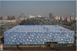 Ilustración 4. Nido de Pájaro y Cubo de Agua en Pekín